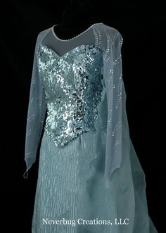 Snow Queen Elsa Costume por NeverbugCreations en Etsy