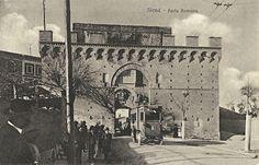 La filovia a Porta Romana - Cartolina non viaggiata - ed. Ditta Stefano Venturini - Siena - #Siena #Toscana #PortaRomana #SienaComEra