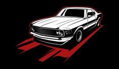 Coche vintage blanco y negro Vector Prem... | Premium Vector #Freepik #vector #coche #deporte #dibujos-animados #negro Car Vector, Vector Freepik, Wall Collage, Darth Vader, Fictional Characters, Car Symbols, Old Cars, Vintage Logos, Retro Cars