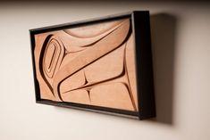 Haida Art by Ben Davidson Native Art, Native American Art, Abstract Sculpture, Wood Sculpture, Art Haïda, Tiki Totem, Haida Art, Inuit Art, Native Design