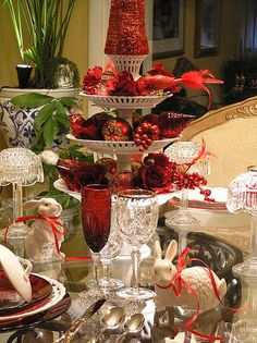 Christmas tablesetting (1) From: FlickR, please visit