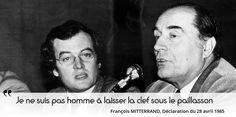 formule choc à propos de la situation à venir en 1986, que Mitterrand anticipe déjà