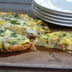 Frittata with Artichokes and Potatoes