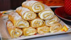 Palačinky ze zakysané smetany s tvarohovým krémem – magnilo Cookie Desserts, Dessert Recipes, Russian Pastries, Cottage Cheese Recipes, Crepes And Waffles, Sour Cream Sauce, Food Tags, Russian Recipes, Seafood Dishes