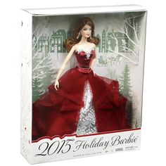 Extra suggest Barbie Collector 2015 Holiday Doll – Auburn for Christmas Gifts Idea Sales Barbie Box, Barbie Dream, Bad Barbie, Christmas Barbie, Christmas Toys, Christmas Outfits, Christmas Presents, Christmas Decor, Merry Christmas