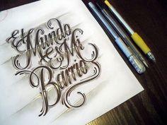 El Mundo es Mi Barrio by Mateusz Witczak, via Behance