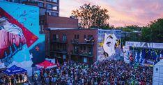 Le festival MURAL présente un immense party musical gratuit sur Saint-Laurent - Narcity
