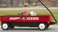 Pickup Truck Converted to Radio Flyer Car