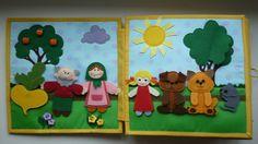 Книжечка для маленького Мишустика! - Рукоделие - Babyblog.ru