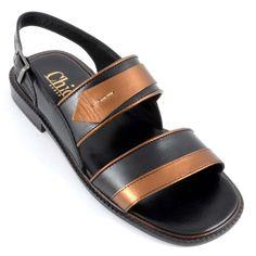 772246fdd68a Buy Online Trendy Black Color Designer Sandal For Men