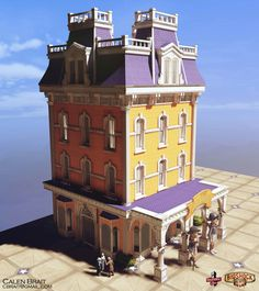 Bioshock Infinite - Boardwalk Building
