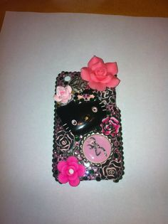 Camo Kitty IPhone 3GS case by DazzlingCases on Etsy, $20.00