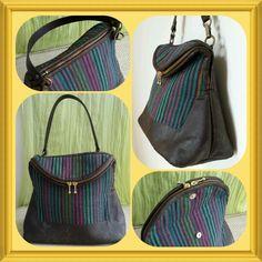 Stripe Handbags