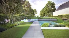 ECO Tuinarchitectengroep   3D projecten   Strakke landschapstuinen
