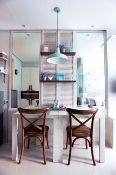 good interior designing for a 24 sqm apartment Small Apartment