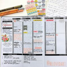 write appointments in black and add journaling the next day in a contrasting color. Planner Free, Planner Tips, Planner Layout, Happy Planner, Law Of Attraction Planner, Bullet Journal Inspiration, Journal Ideas, Planner Organization, Organizing