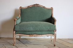 Circa 1900 French Painted Marquise in the Louis XV taste