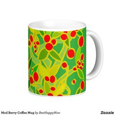 Mod Berry Coffee Mug
