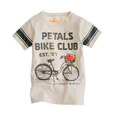 Girls bicycle tee