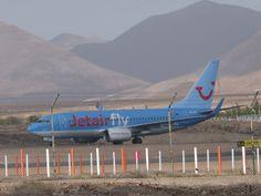Canary Islands Spotting....Spotter: JETAIR FLY OO-JAS ... Boing 737 Fuerteventura Spot...