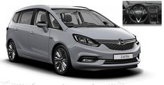 This Is Likely The Facelifted 2017 Opel / Vauxhall Zafira Tourer #Opel #Opel_Scoops