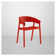 Chaise COVER rouge Muuto