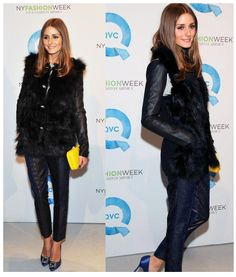 Olivia Palermo - New York Fashion Week Fall 2012
