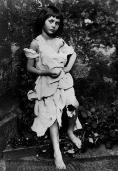 "Alice in Wonderland!....Vintage photo of Alice Liddell, Lewis Carroll's muse for ""Alice in Wonderland""...This time we pinned the muse rather than the artist :-)"