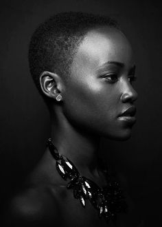 Lupita Nyong'o. Supporting Oscar winner for Twelve Years a Slave. This remarkable actress has an outstanding career ahead..