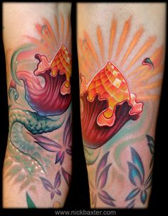 Another Tattoo from Nick Baxter ... He's definitely one of my FAVORITE arts for color!!