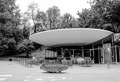 PKP Warszawa Powiśle, (Powiśle railway station), Warsaw, Poland, built between 1954-1963, Architects: Arseniusz Romanowicz Piotr Szymaniakhttp://en.wikipedia.org/wiki/Warszawa_Powiśle_railway_station