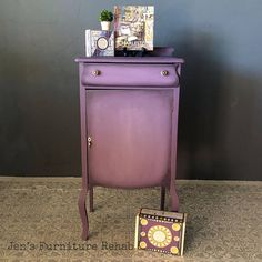 Antique cabinet painted by Jen's Furniture Rehab with Chalk Paint® by Annie Sloan in Rodmell and Emile. Annie Sloan Chalk Paint Colors, Chalk Paint Wax, Annie Sloan Painted Furniture, Painted Sideboard, Annie Sloan Paints, Chalk Paint Furniture, Vintage Sheet Music, Antique Cabinets, Painting Cabinets