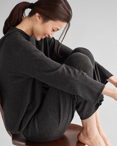 46c901361a Our lightweight cozy heathered hoodie with pockets. Weekend Clothing