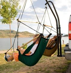 These seem so necessary! Get these seat hammocks for car camping.