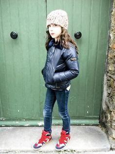 Kids street style by Hélène Lahalle pour MilK magazine.