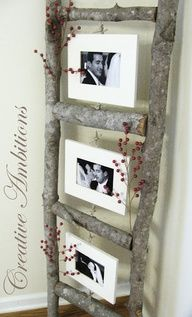 """Wooden Ladder Picture Frames"""" data-componentType=""""MODAL_PIN"""
