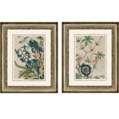 February Detail by Furber 2 Piece Framed Painting Print Set