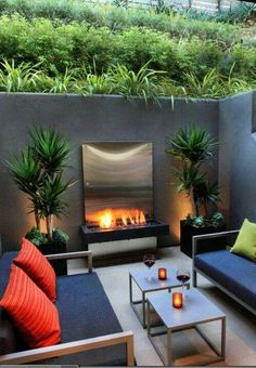 Relaxing Patio with firepit and conversation seating.