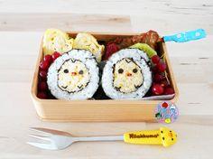 Kiiroitori sushi bento