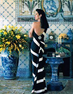 Carolyne Roehm, American Vogue, February 1989.