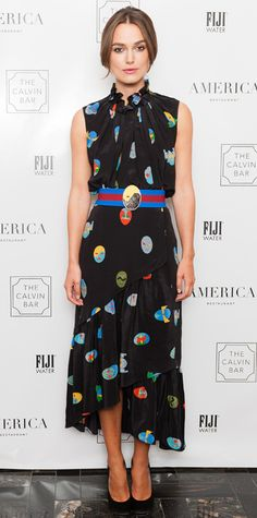 Look of the Day - September 11, 2014 - Keira Knightley in Stella McCartney from #InStyle