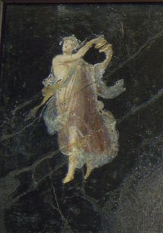 Dancing Maenad - from Pompeii - Naples Archaeological Museum