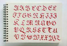 lettering / calligraphy / typography · fraktur altas