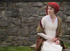 How to Tie a Regency Turban | A Video Tutorial on American Duchess blog by designer Lauren Reeser