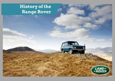 History of the Range Rover | Land Rover San Antonio BLOG