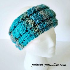Free Crochet Pattern: Unforgettable Cables by Pattern-Paradise.com