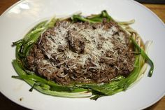 Brasato di Maiale with Grilled Scallions - Italian Braised Pork Shoulder