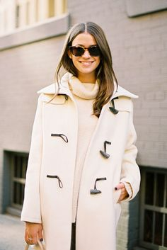winter whites via coffee stained cashmere