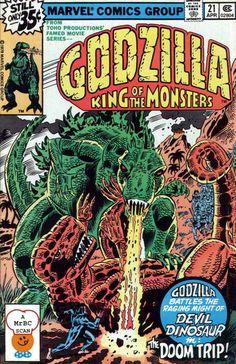 Godzilla #21 (Marvel)