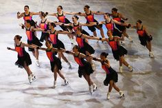 The Haydenettes perform during the Exhibition of Champions on Day 7 of the ISU World Figure Skating Championships 2016 at TD Garden on April 3 2016...
